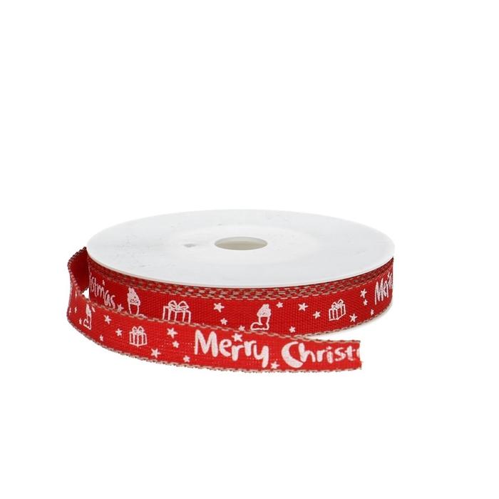 <h4>Kerst Lint Merry Christmas 15mm 20m</h4>