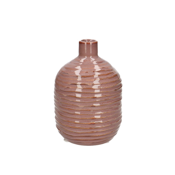 <h4>Ceramics Como bottle d09*13cm</h4>