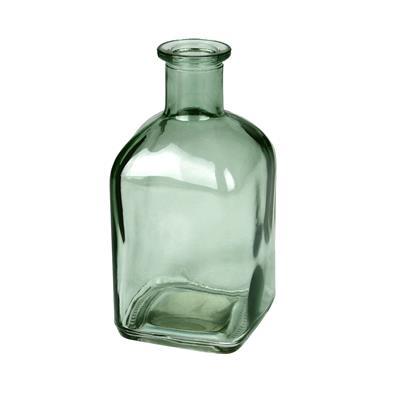 <h4>Vaas Bamako glas L6,5xB6,5xH13cm mosgroen transp.</h4>