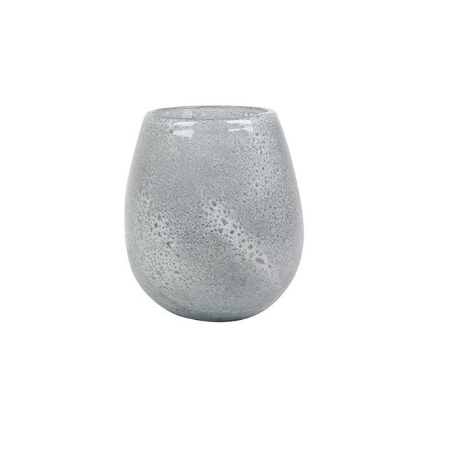 <h4>Glass colour Liz ball vase d13*15cm</h4>