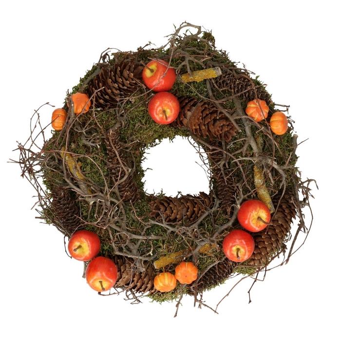 <h4>Wreath d30cm Autumn mix</h4>