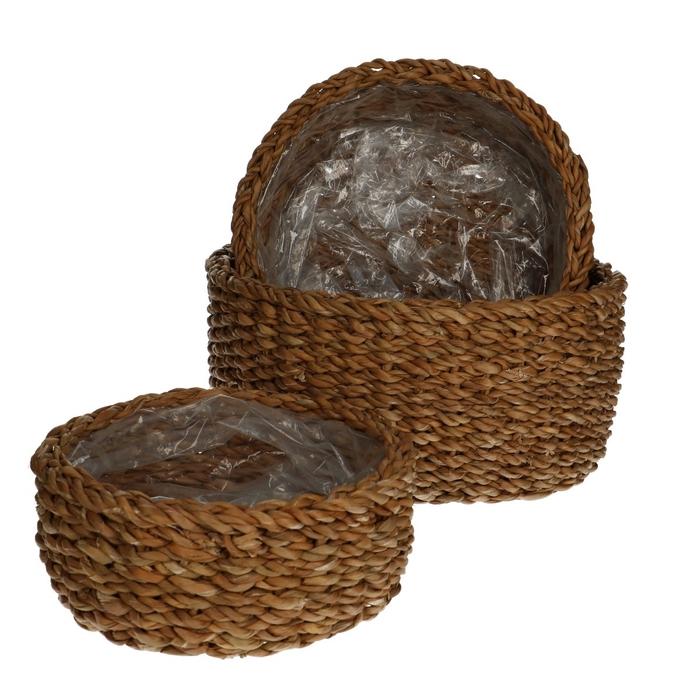 <h4>Baskets Ido bowl S/3 d28*13cm</h4>