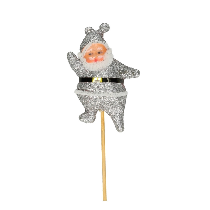 <h4>Christmas sticks 50cm Santa 8.5cm</h4>