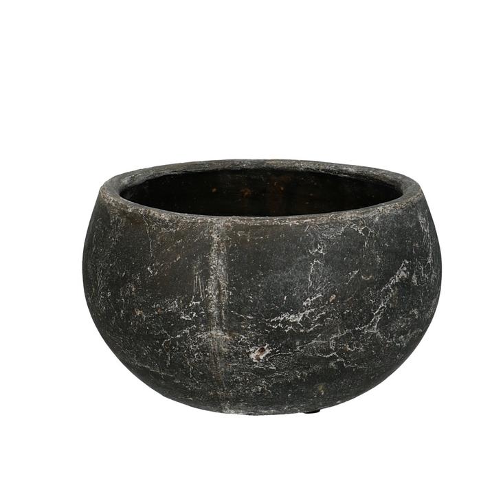 <h4>Keramiek Amber schaal d22*12cm</h4>