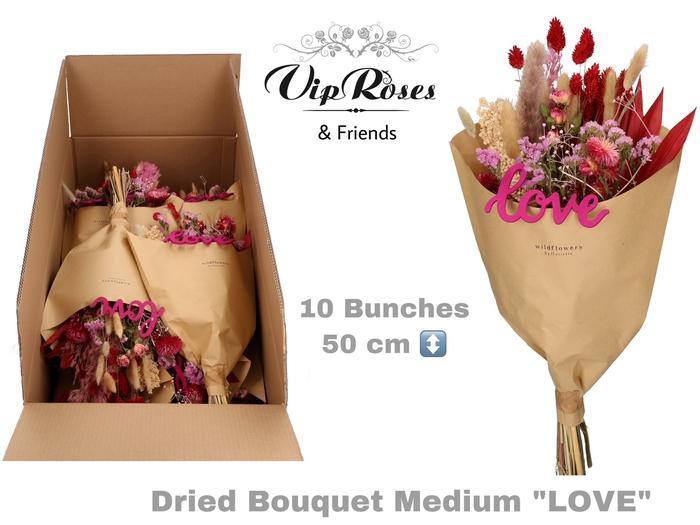 <h4>Vip Dried Bouquet Medium Love</h4>