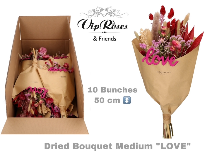 DRIED BOUQUET MEDIUM LOVE