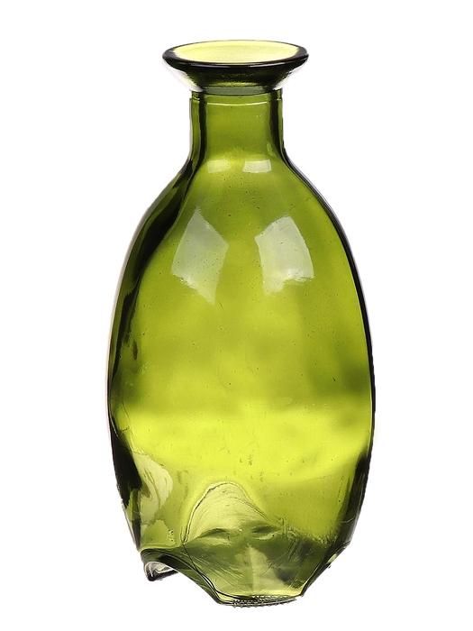 <h4>DF663412400 - Bottle Caro10 d8.2xh16.2 vintage green</h4>