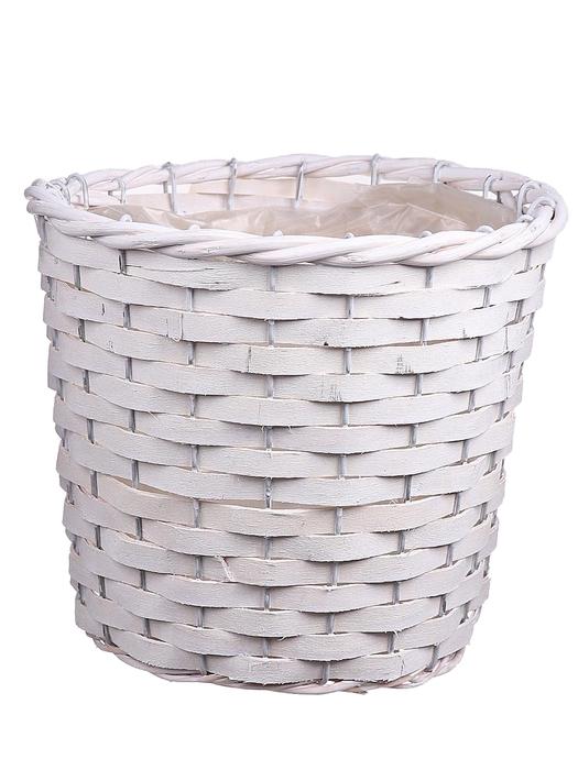 <h4>DF663360475 - Basket Fado d20xh17 white</h4>