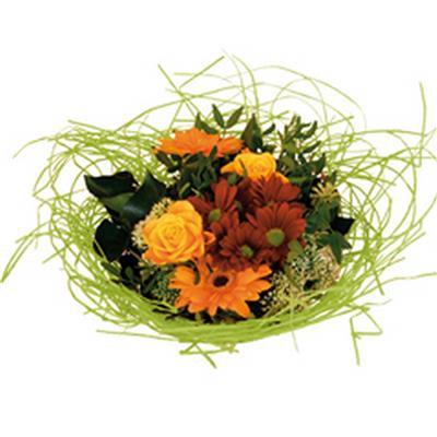 <h4>Bouquet holder woody Ø20cm light green</h4>