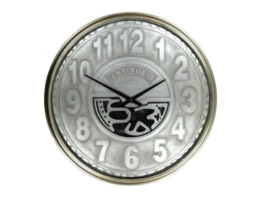 <h4>Clock Gear Ø103cm Silver 59913</h4>