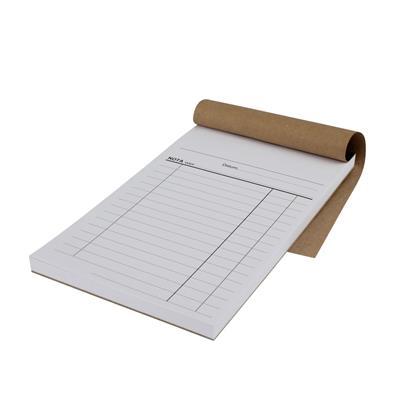 <h4>Notablok 1-voud 10x17cm - pak 5 stuks</h4>