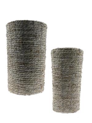 <h4>Basket Rope S/2 Ø34x55cm</h4>
