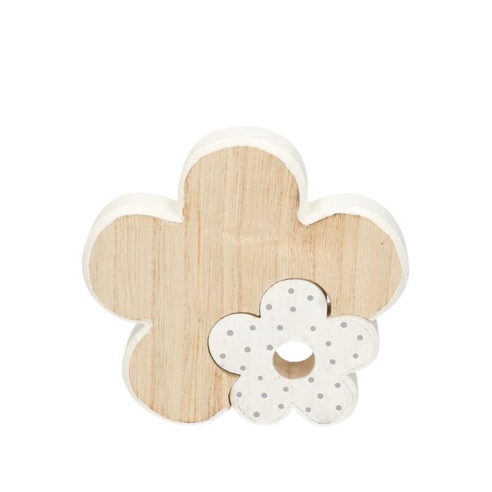 <h4>Voorjaar Bloem hout 15*15cm</h4>