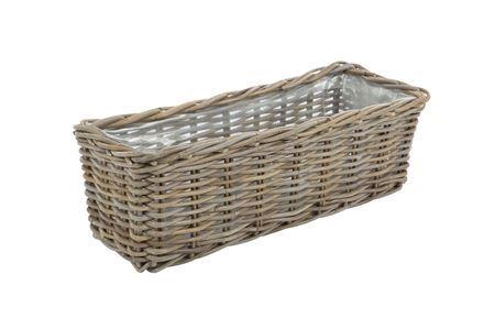 <h4>Basket rctngl 'Piru' l60 grey</h4>