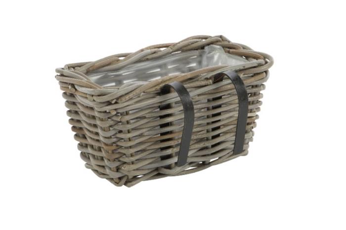 <h4>DF888002400 - Balcony basket Pinon 30x20x15 grey</h4>
