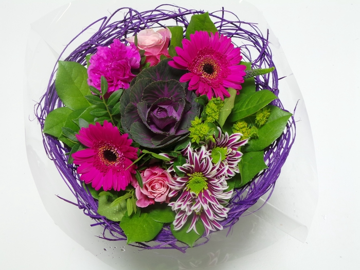 Bouquet Sisal Medium Lilac