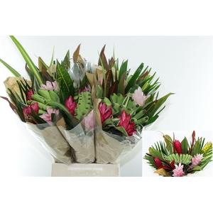 Bouquet Rond Rainbow (mg)