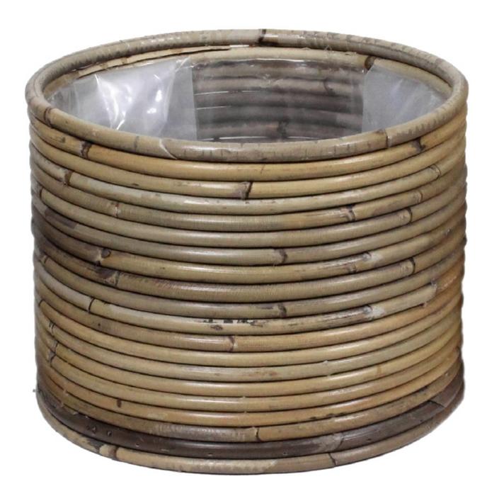 <h4>DF888013500 - Basket Peridot d20xh15 grey</h4>