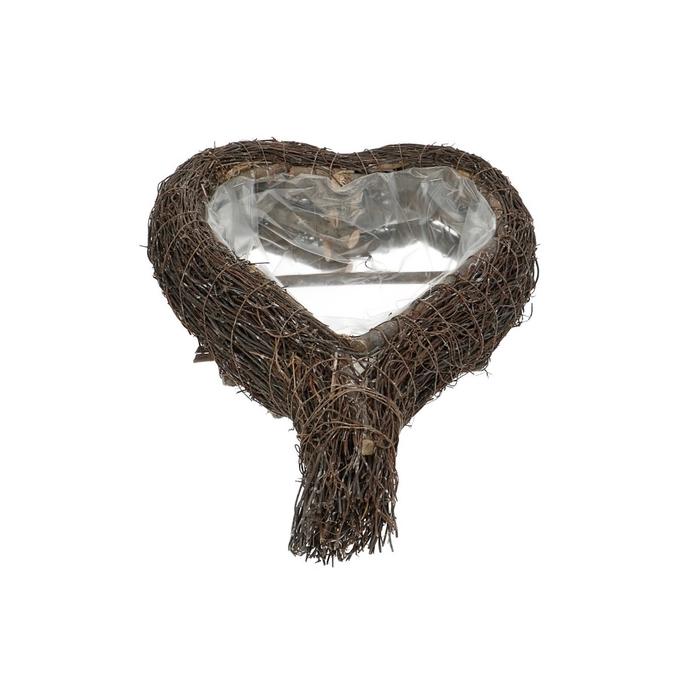 <h4>Baskets Izzy planter heart 35/26*9cm</h4>