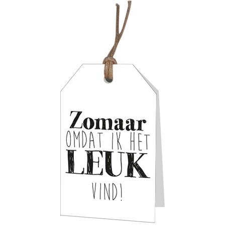 <h4>Labels Displ.Card NL Zomaar 5*8cm x12</h4>