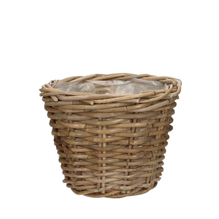 <h4>Baskets Rattan pot d23*19cm</h4>