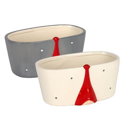 <h4>Échelle Santa hat la cerámique 18x10,5x8,5cm ass</h4>
