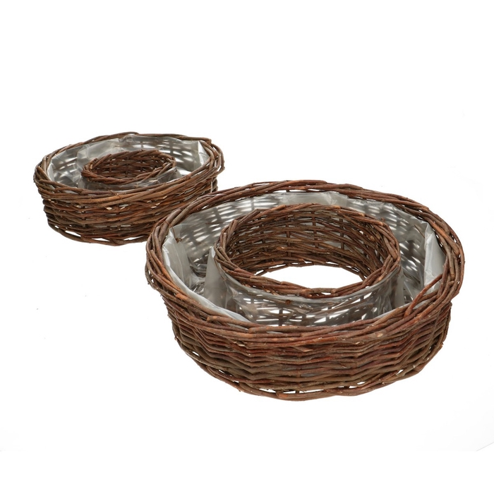 <h4>Baskets Babet ring S/2 d31*8.5cm</h4>
