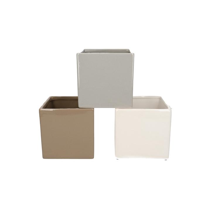 <h4>Ceramics Cube d12*12cm ass.</h4>