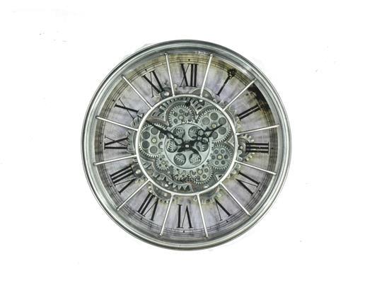 <h4>Clock Gear Ø46cm Grey 66805</h4>