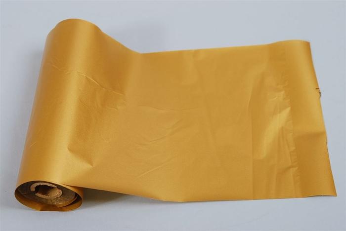 <h4>Folie Druk Gouden 11cmx50m Watervst</h4>