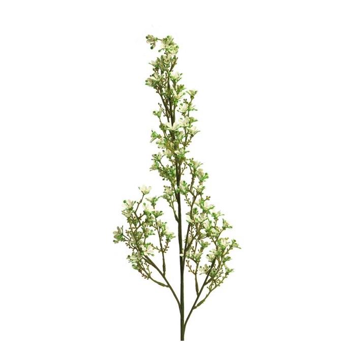 <h4>SILK FLOWERS - WILD BOUVARDIA MARNI SPRAY LARGE WHITE 79 CM</h4>