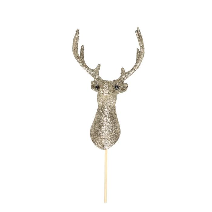 <h4>Christmas sticks 50cm Reindeer Belle 12.5cm</h4>
