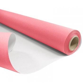 <h4>Papier Rol 80cm 40m 60g Wit/Roze</h4>