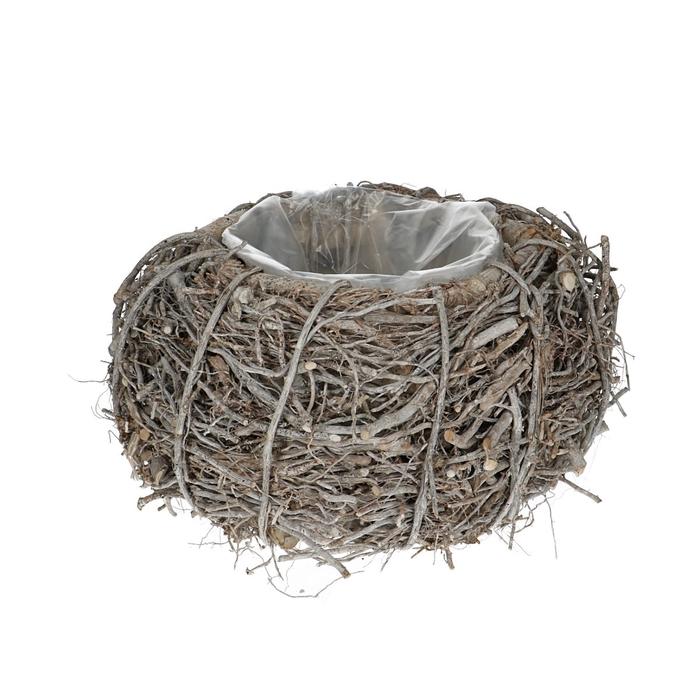 <h4>Baskets Planter d27*17cm Twig</h4>