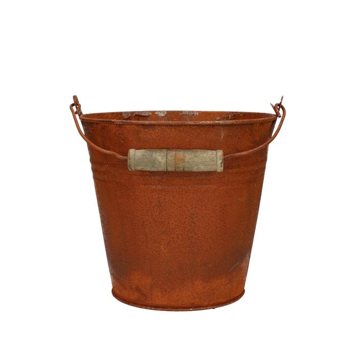<h4>Zinc Bucket rust d16*15cm</h4>