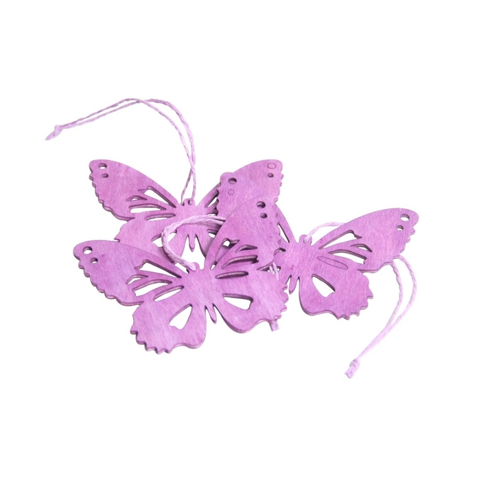 <h4>Autumn Hanging butterfly 10cm x3</h4>