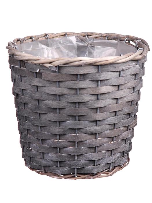 <h4>DF663360371 - Basket Fado d18xh16 grey</h4>