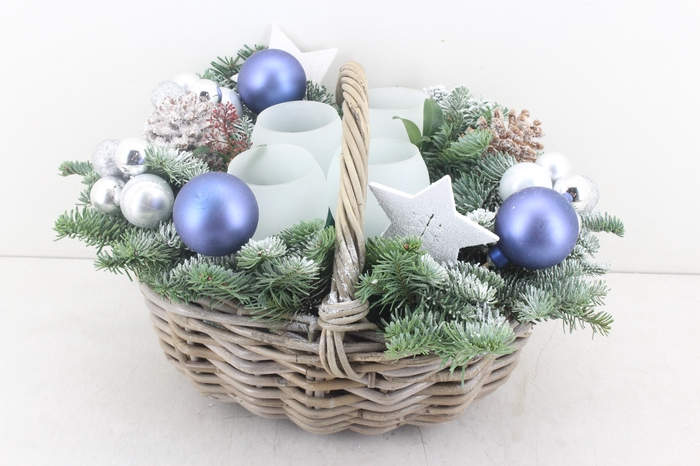 <h4>arr.. Kerst PL - Kubu mand laag zilver</h4>