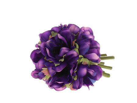 <h4>Anemone ball dk purple 12cm</h4>