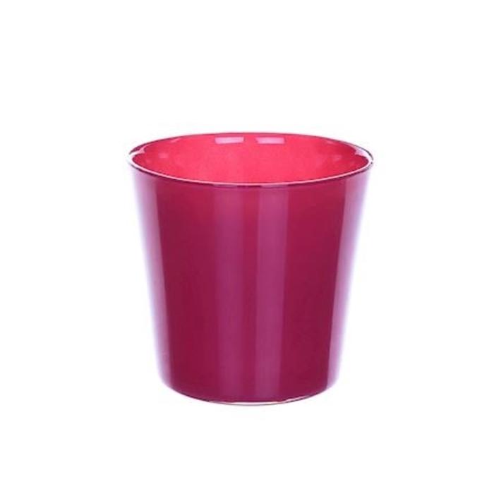 <h4>Glas kleur Pot Nashville d13*12.5cm</h4>