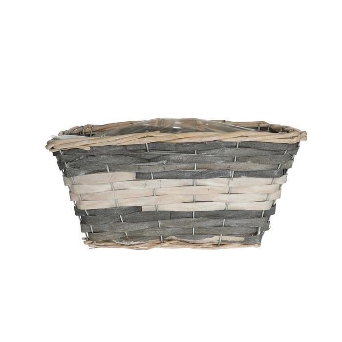<h4>Baskets Fleur tray rect.d28/20*14cm</h4>