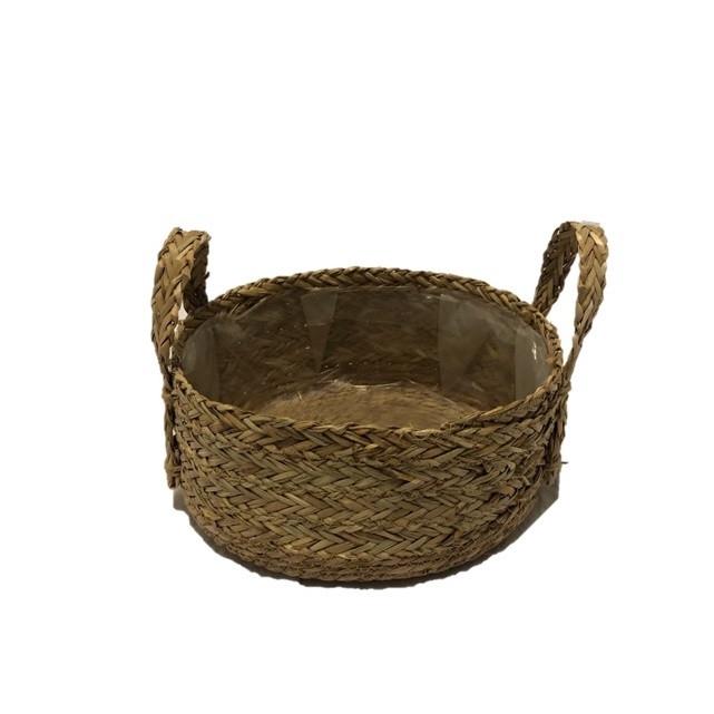 <h4>Baskets Tray grass +handle d30*14cm</h4>
