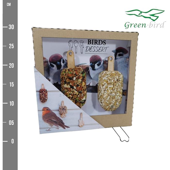 <h4>arr. GB BRD30 - Birds dessert</h4>