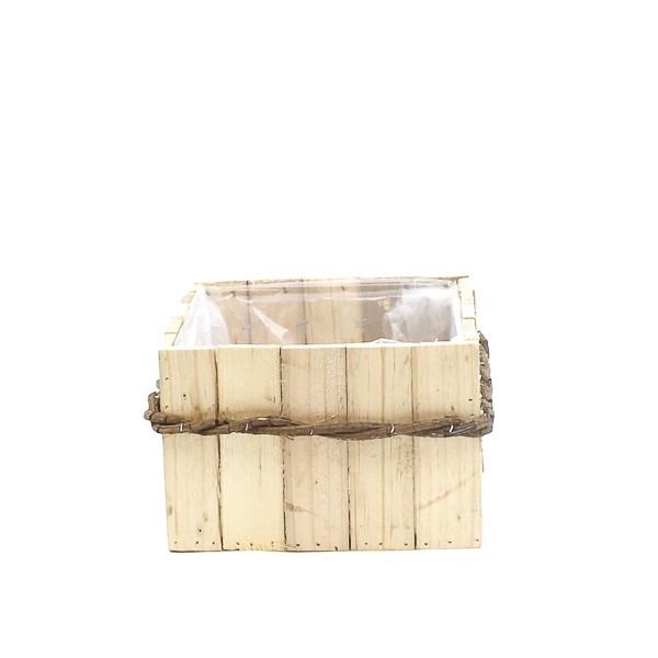 <h4>Hout Planter Bamboo vk d26*15cm</h4>