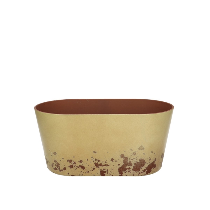 <h4>Plastic Melam rust tray ov24/13*11cm</h4>