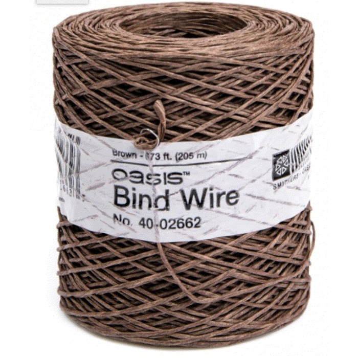 <h4>BINDWIRE DARKBROWN 205M (OASIS)</h4>
