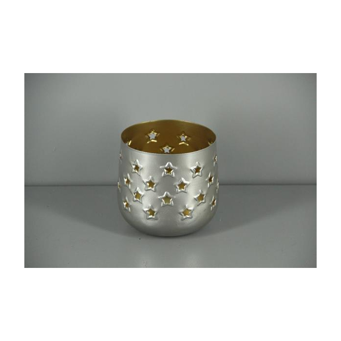 <h4>Lantern Mtl Rnd Nickle/gold 13</h4>
