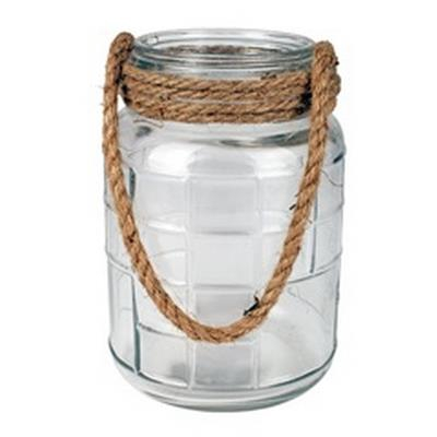 <h4>Vase Cruz avec cord verre Ø15.6xH23cm</h4>