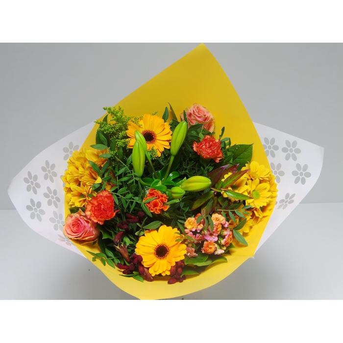 <h4>Bouquet Biedermeier Medium Orange</h4>