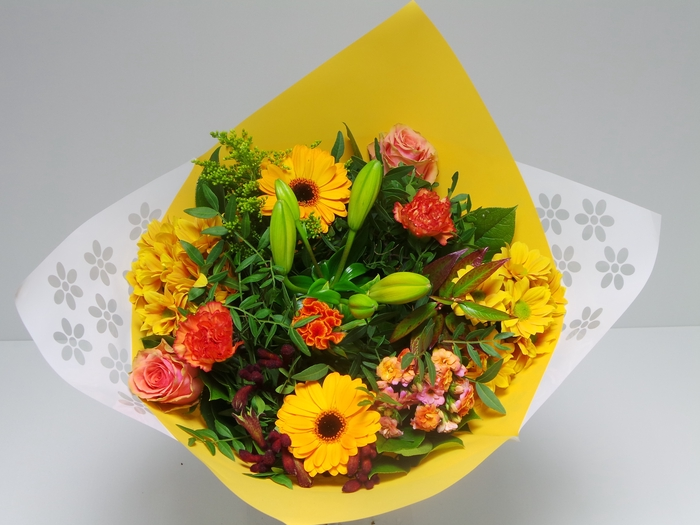 <h4>Bouquet Biedermeier Medium Orange</h4>